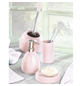 WENKO WC-Bürsten & WC-Garnituren »Polaris«, Höhe: 34,5 cm, rosa-Thumbnail