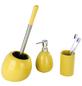WENKO WC-Bürsten & WC-Garnituren »Polaris«, Keramik, gelb-Thumbnail