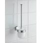 WENKO WC-Garnitur »Bosio«, Edelstahl/Glas, edelstahlfarben-Thumbnail