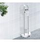 WENKO WC-Garnitur »Cosenza«, Stahl, chromfarben-Thumbnail