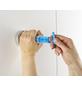 WENKO WC-Garnitur »Quadro«, Edelstahl/Kunststoff, weiß/chromfarben-Thumbnail