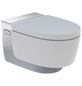 GEBERIT WC-Set »AquaClean«, Tiefspüler, weiß, Spülrandlos-Thumbnail