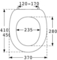 PRESSALIT® WC-Sitz »2000« aus Duroplast,  oval-Thumbnail