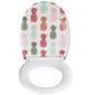WENKO WC-Sitz »Ananas«, Duroplast, oval, mit Softclose-Funktion-Thumbnail