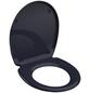 SCHÜTTE WC-Sitz »Anthrazit«, Duroplast,  anthrazit,  oval-Thumbnail