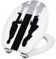 CORNAT WC-Sitz »ART OF ACRYL«, MDF, oval, mit Softclose-Funktion-Thumbnail