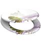 SCHÜTTE WC-Sitz »Balance«, Mitteldichte Faserplatte (MDF),  weiss/gruen/rosa,  oval-Thumbnail