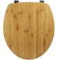 SANITOP-WINGENROTH WC-Sitz »Bambus Natur«, Echtholz, oval-Thumbnail