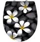 WENKO WC-Sitz »Bloom«, blumen|steine-Thumbnail