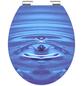 SCHÜTTE WC-Sitz »Blue Drop« mit Holzkern,  oval mit Softclose-Funktion-Thumbnail