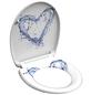 SCHÜTTE WC-Sitz »Blue Heart« aus Duroplast,  oval mit Softclose-Funktion-Thumbnail