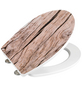 WENKO WC-Sitz »Bois« aus Duroplast,  oval mit Softclose-Funktion-Thumbnail