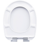 CORNAT WC-Sitz »BOLA«, Duroplast, oval, mit Softclose-Funktion-Thumbnail