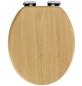 WENKO WC-Sitz »Buche Natur«, MDF, oval, mit Softclose-Funktion-Thumbnail