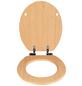 WENKO WC-Sitz »Buche Natur« mit Holzkern,  oval mit Softclose-Funktion-Thumbnail
