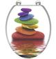 SCHÜTTE WC-Sitz »Colorful Stones« mit Holzkern,  oval-Thumbnail