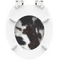 SCHÜTTE WC-Sitz »Cow skin« mit Holzkern,  oval-Thumbnail