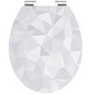 SCHÜTTE WC-Sitz »Diamond« mit Holzkern,  oval mit Softclose-Funktion-Thumbnail