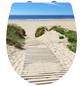 WENKO WC-Sitz »Düne« aus Duroplast,  oval mit Softclose-Funktion-Thumbnail