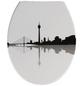 WENKO WC-Sitz »Düsseldorf«, Duroplast, oval, mit Softclose-Funktion-Thumbnail