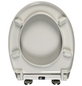 WELLWATER WC-Sitz Duroplast, oval mit Softclose-Funktion-Thumbnail