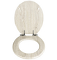 WENKO WC-Sitz »Eiche«, MDF, oval, mit Softclose-Funktion-Thumbnail