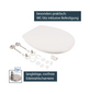 WELLWATER WC-Sitz »Fene«, Duroplast, oval, mit Softclose-Funktion-Thumbnail