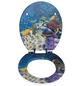 WENKO WC-Sitz »Fish«, MDF, oval, mit Softclose-Funktion-Thumbnail