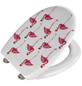 WENKO WC-Sitz »Flamingo«, Duroplast, oval, mit Softclose-Funktion-Thumbnail