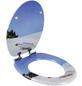 WELLWATER WC-Sitz »Flaschenpost«, mit Holzkern, oval, mit Softclose-Funktion-Thumbnail