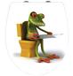 WENKO WC-Sitz »Frog News«, Frosch-Thumbnail