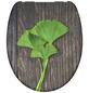 SCHÜTTE WC-Sitz »Ginko & Wood«, Duroplast,  braun/gruen,  oval-Thumbnail