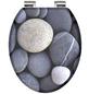 SCHÜTTE WC-Sitz »Grey Stones« mit Holzkern,  oval-Thumbnail