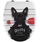 WENKO WC-Sitz »Guilty Dog« aus Duroplast,  oval mit Softclose-Funktion-Thumbnail