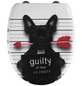 WENKO WC-Sitz »Guilty Dog« Duroplast,  oval mit Softclose-Funktion-Thumbnail