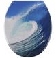 WENKO WC-Sitz »Hawaii«, Wellen-Thumbnail