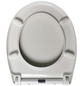 WELLWATER WC-Sitz »Heart« aus Duroplast,  oval mit Softclose-Funktion-Thumbnail