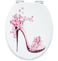 SANITOP-WINGENROTH WC-Sitz »High Heel«, mit Holzkern, oval, mit Softclose-Funktion-Thumbnail