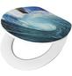 CORNAT WC-Sitz Holzkern,  D-Form mit Softclose-Funktion-Thumbnail