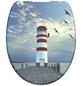 SCHÜTTE WC-Sitz »LIGHTHOUSE«, Leuchtturm Absenkautomatik-Thumbnail