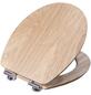 CORNAT WC-Sitz »LIGNA«, Echtholz, oval, mit Softclose-Funktion-Thumbnail