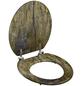 SCHÜTTE WC-Sitz mit Holzkern,  oval-Thumbnail