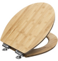 CORNAT WC-Sitz mit Holzkern,  oval mit Softclose-Funktion-Thumbnail