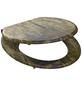 SCHÜTTE WC-Sitz mit Holzkern,  oval mit Softclose-Funktion-Thumbnail