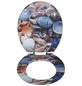WENKO WC-Sitz »Muschel«, MDF, oval, mit Softclose-Funktion-Thumbnail