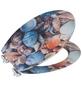 WENKO WC-Sitz »Muschel« mit Holzkern,  oval mit Softclose-Funktion-Thumbnail