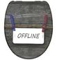 SCHÜTTE WC-Sitz »Offline« aus Duroplast,  oval mit Softclose-Funktion-Thumbnail