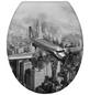 WENKO WC-Sitz »Old-Time« aus Duroplast,  oval mit Softclose-Funktion-Thumbnail