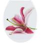 WENKO WC-Sitz »Orchid« aus Duroplast,  oval-Thumbnail