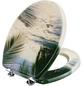 CORNAT WC-Sitz »PALMEN AM STRAND«, MDF, D-Form-Thumbnail